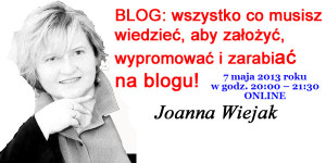 Blog Wiejak Joanna