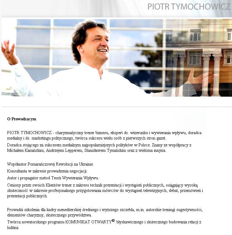 Tymochowicz-info