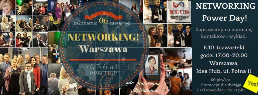 Networking z Katarzyna Spiridonow