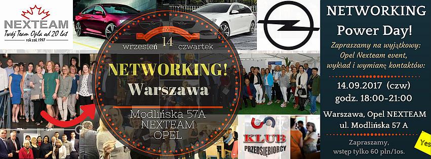NetworkingDay Opel Nexteam Warszawa Modlińska