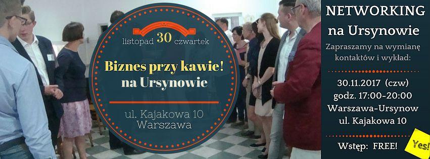 FB-Ursynow-Biznes przy Kawie